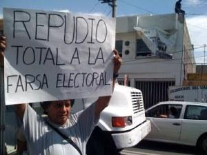 Sé lo que hicieron el 14 pasado: el fraude electoral, develado