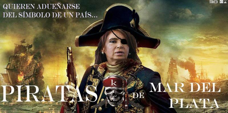 Resultado de imagen para lOS Piratas Kirchner